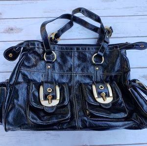 Large Black Rampage Travel Handbag